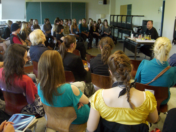 Lesung im Berufskolleg Warendorf am 30. Mai 2011